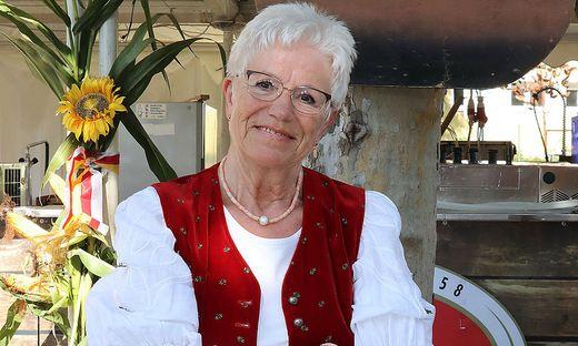 Monika Krause ist auch heuer wieder beim Gulaschfest dabei