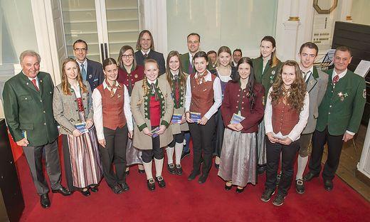 14 Jungmusiker aus dem ehemaligen Bezirk Hartberg bestanden die Prüfung mit dem Abzeichen in Gold