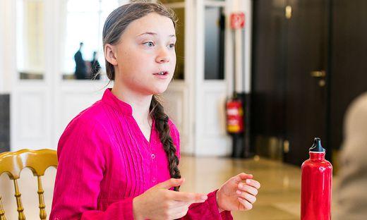 Greta Thunberg Hofburg Summit Interview by Akos Burg