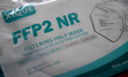 Ab Montag werden FFP2-Masken in weiten Teilen der Öffentlichkeit Pflicht