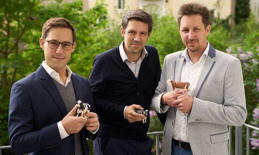 smaXtec: Robin Waluschnig, Stefan Rosenkranz, Mario Fallast
