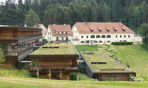 Der Josefhof in Graz-Mariatrost. Für den Umbau und Neubau zeichnet das Architekturbüro Dietger Wissounig verantwortlich