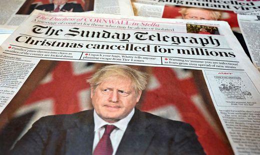 Immer mehr Briten fragen sich, ob Johnsons Regierung diese schwere Krise hinbekommt