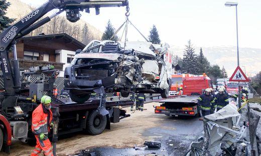 27.01.2020 - Verkehrsunfall - Leisach