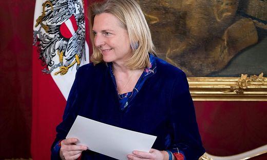 Die neue Außenministerin, Karin Kneissl