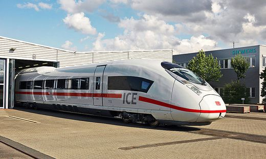 Die modernste ICE 3-Generation: Der Velaro D / The latest ICE 3 generation: The Velaro D