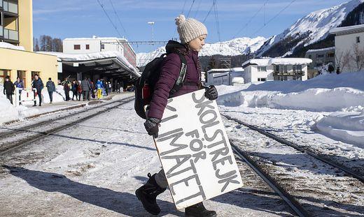 Greta Thunberg (16) findet als Klimaschutzaktivistin international Beachtung