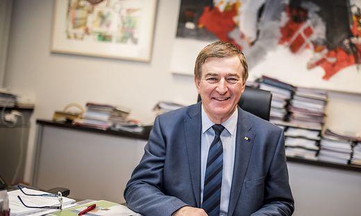 Günther Goach ist seit 2002 Präsident der Kärntner Arbeiterkammer