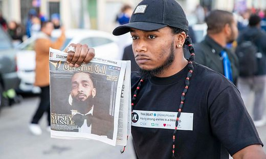 Trauer um Rapper Nipsey Hussle