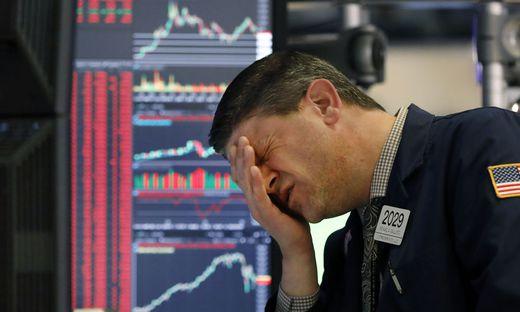 Börsianer machen gerade turbulente Zeiten durch