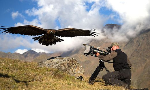 """Otmar Penker und sein Team arbeiteten insgesamt vier Jahre lang an dem Film: """"Die Natur lässt sich nicht planen"""""""