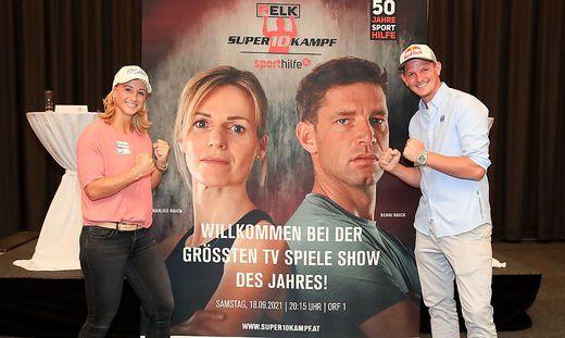 SPORTHILFE - Super10Kampf press conference