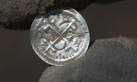 Silbermünze Fund auf Rügen