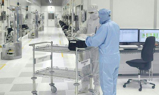 Hochleistungshalbleiterwerk Infineon in Villach