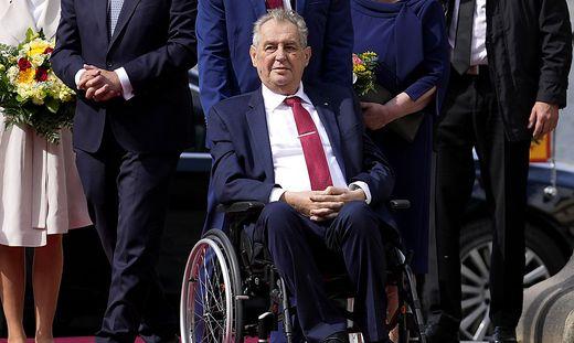 Präsident Milos Zeman ist auf der Intensivstation