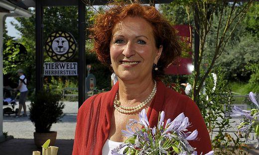 Geschäftsführerin der Tierwelt Herberstein, Doris Wolkner-Steinberger