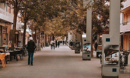 Es war ein ruhiges Wochenende an der Adria
