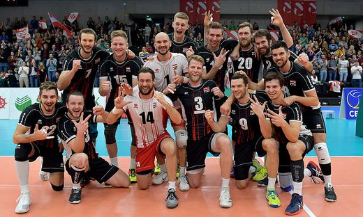 VOLLEYBALL - EuroVolley 2019, AUT vs ALB