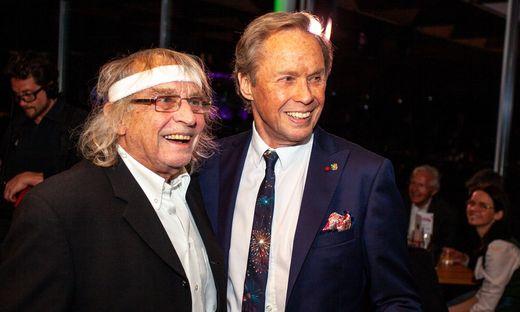 Geburtstagsparty am Grazer Schloßberg: Schiffkowitz und Peter Kraus