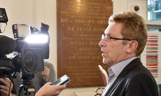 Der leitende ÖGB-Sekretär Bernhard Achitz