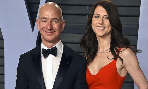 Jeff Bezos und MacKenzie Bezos auf einem Bild aus gemeinsamen Tagen