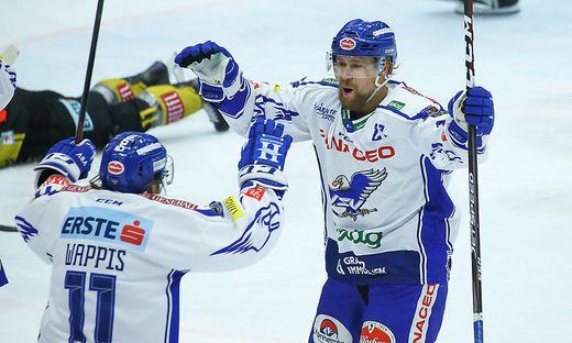 Marko Pöyhönen erzielte den ersten Villacher Treffer