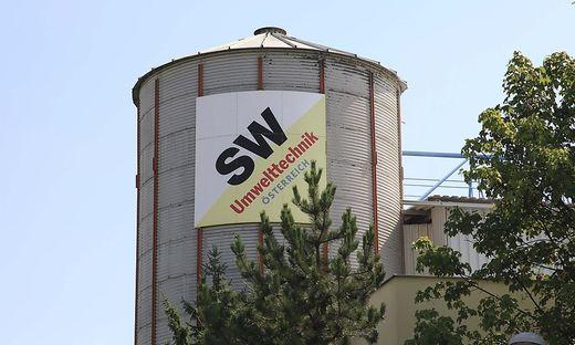 SW Umwelttechnik in der Bahnstraße in Klagenfurt