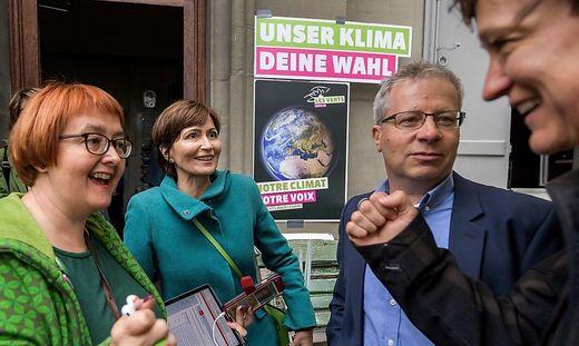 """Die """"grüne Welle"""" hat die Schweiz erreicht"""