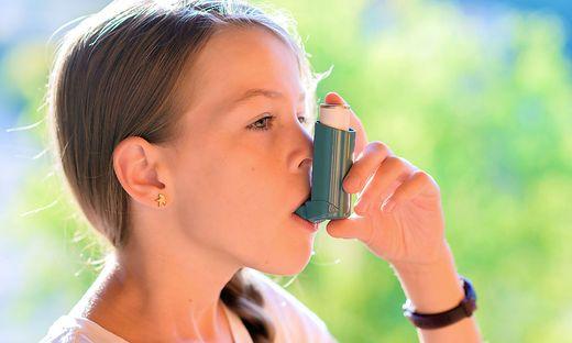 10 Prozent der Kinder haben Asthma