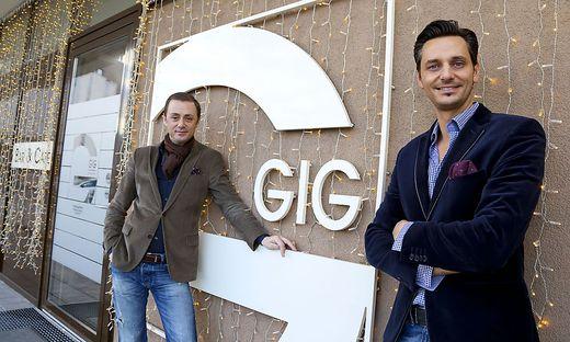 Schoahs und Aigner verbannen Aschenbecher aus der Klagenfurter GIG Bar