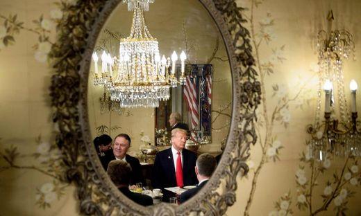 US-Präsident Donald Trump beim Nato-Gipfel im Vorjahr in Brüssel