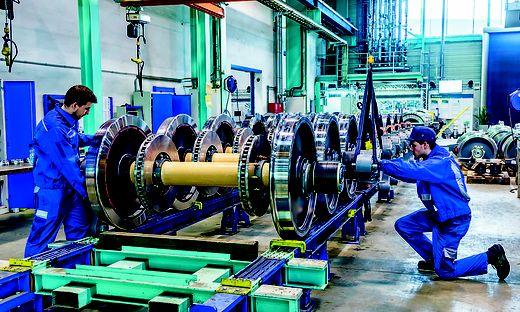 Fahrwerke für Züge der Siemens Mobility werden in Graz gefertigt