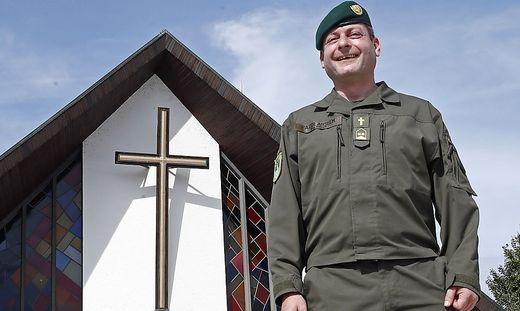 Benediktinerpater Anselm Kassin ist seit 1. September Kärntens Militärpfarrer
