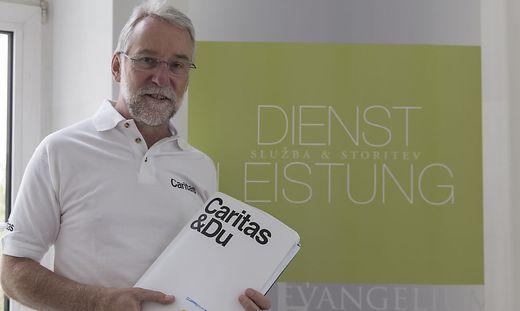 Josef Marketz muss einen Nachfolger für sich als Caritas-Direktor suchen
