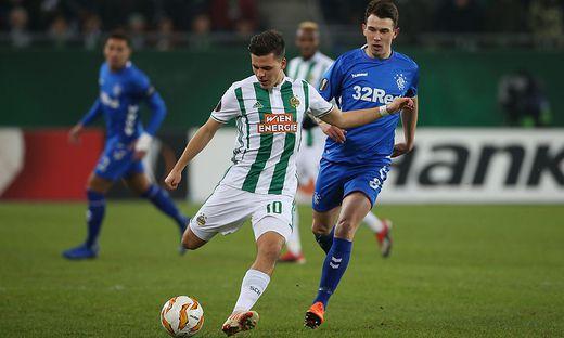 SOCCER - UEFA EL, Rapid vs Rangers