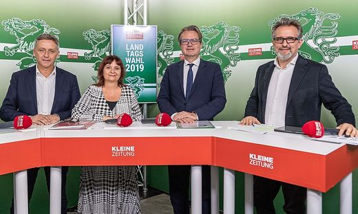 Schönleitner, Klimt-Weithaler, Drexler und Hubmann