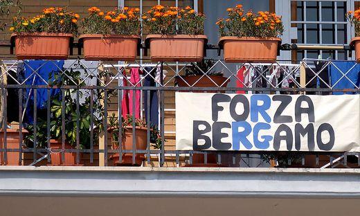 In Bergamo sind besonders viele Menschen vom Coronavirus betroffen