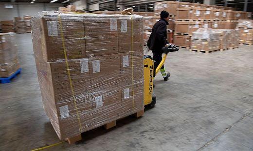 Der Warenverkehr aus China über die Schiene nimmt wieder zu