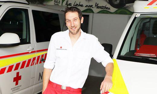 Michael Pischel kam durch seinen Zivildienst zum Roten Kreuz und blieb ehrenamtlich dabei