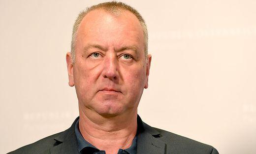 FPÖ-Nationalratsabgeordneter Wolfgang Zanger