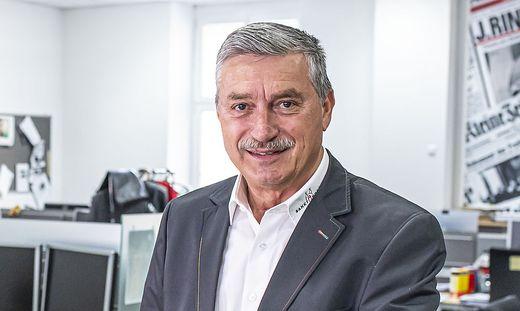 Peter Stauber hört nach fünf Jahren als Präsident des Kärntner Gemeindebundes auf