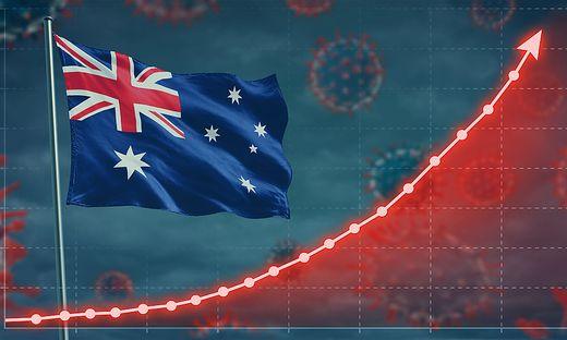 Vor allem in Sydney – das seit acht Wochen strenge Restriktionen hat – steigen die Zahlen trotz Lockdowns. Schuld daran ist die Delta-Variante