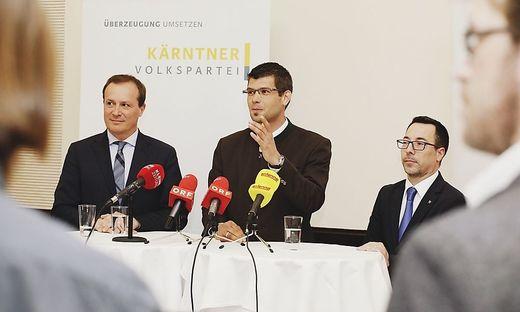 Ulrich Zafoschnig, Martin Gruber und Markus Malle (von links)