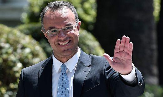 Griechenlands Finanzminister Christos Staikouras