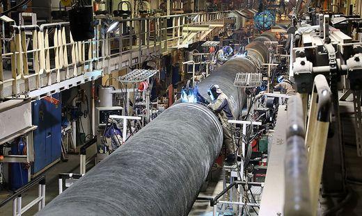 Kompromiss, aber Russland arbeitet an Alternativen wie die Gas-Pipeline Nord Stream 2