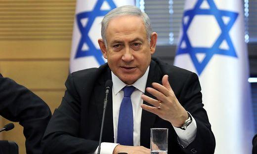 Regierungschef Benjamin Netanyahu