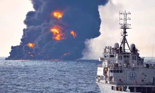 TOPSHOT-CHINA-IRAN-SHIPPING-ACCIDENT