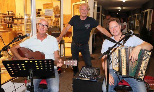 Huber, Blaßnig und Tschaitschmann beim Konzert