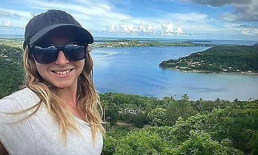 Zoe Stephens hat sich mittlerweile in Tonga eingelebt.