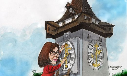 Elke Kahrs KPÖ - eine neue Zeitrechnung in der Stadtpolitik beginnt.